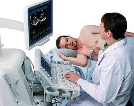 Эхокардиография дает возможность оценить состояние и толщину мягких тканей сердца и сосудов