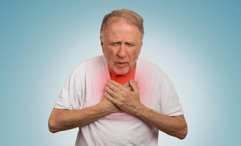 Одышка при сердечной недостаточности: симптомы и препараты для лечения