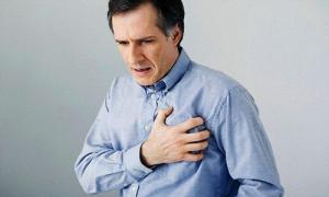 Боль в груди после еды -как один из признаков