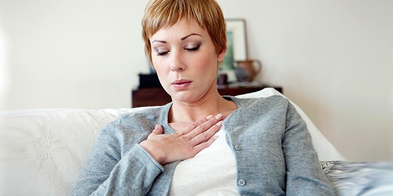 Одышка может быть симптом болезни