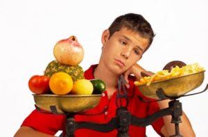 Важный момент в лечении - питание подростка