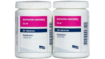 Для профилактики тромбоэмболии назначают длительный прием варфарина