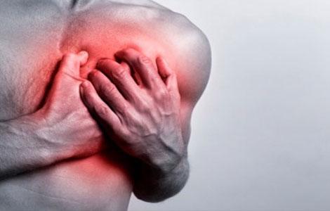 Могут наблюдаться вместо болей в груди человек может ощущать простой дискомфорт и перебои в работе сердца
