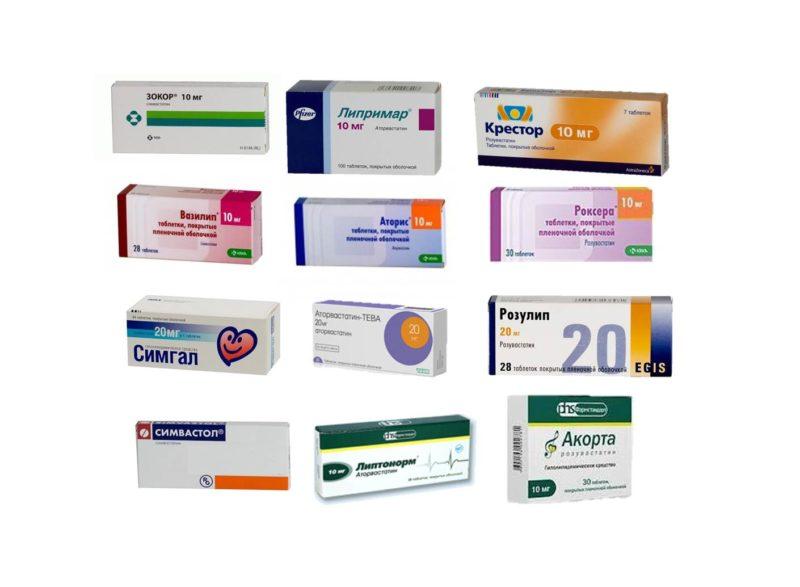 Наиболее эффективные препараты для снижения уровня холестерина в крови являются - статины