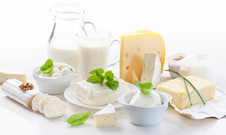 Молочные продукты должны входить в рацион правильного питания