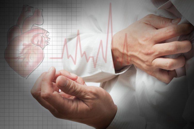 Признаки возникновения стенокардии у мужчин