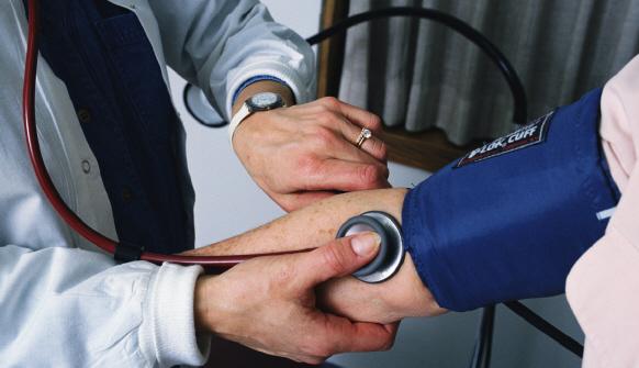 Повышенное верхнее давление - один из симптомов