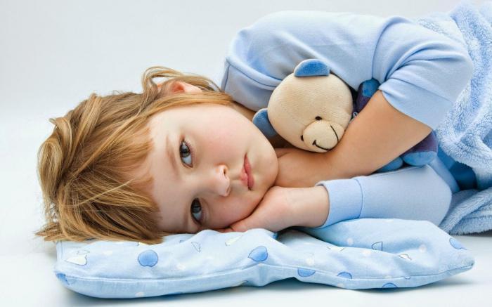 Повышенная утомляемость один из признаков недуга у детей